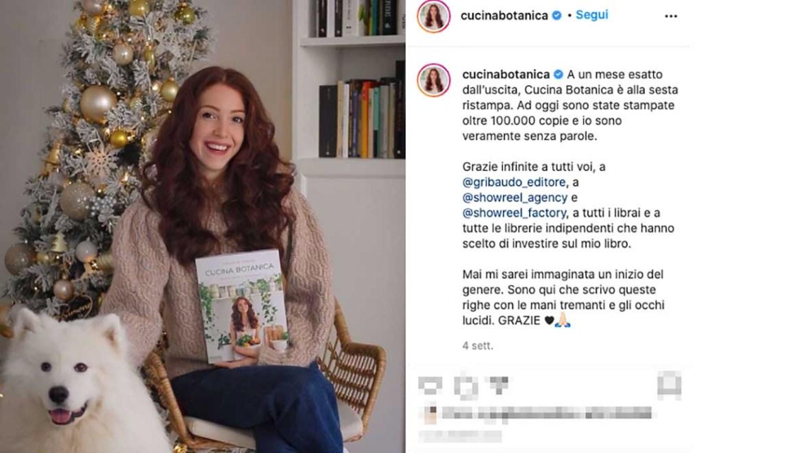 Cucina Botanica e il suo libro