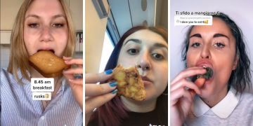 What I eat in a day su Tik Tok