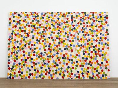 Newport Gallery Spot-Painting,-1986