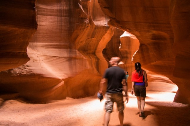 usa, antelope canyon, arizona