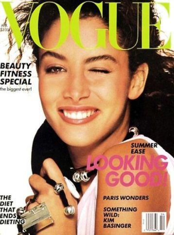 Kara Young Vogue Abril 1988