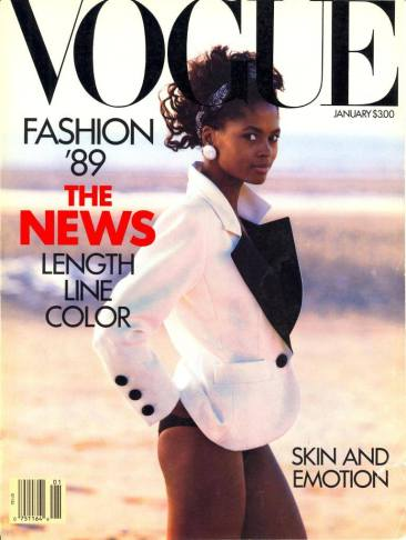 Karen Alexander - Vogue 1989 @ Peter Lindbergh