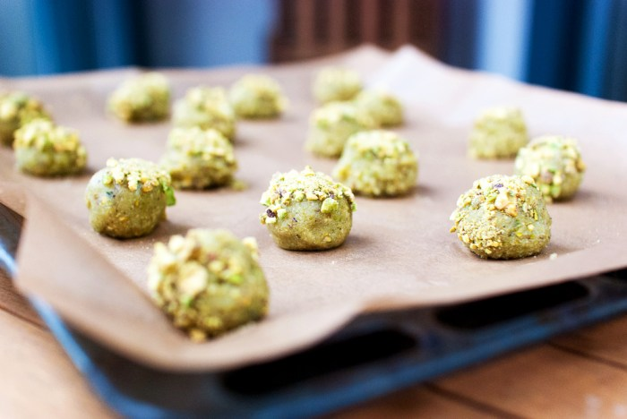 Pistachio Cookies Recipe