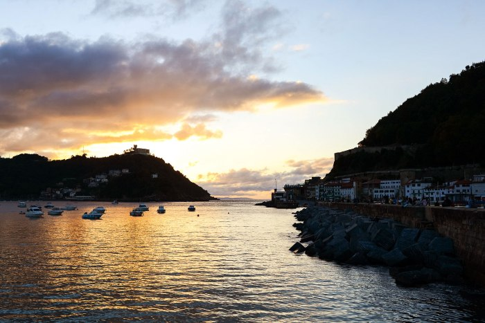 Sunset-San-Sebastian-Donostia-Spain
