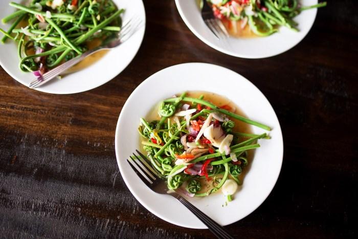 fern-salad-kuching-sarawak-1
