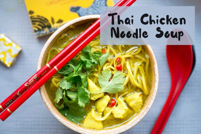 Thai Chicken Noodle Soup recipe
