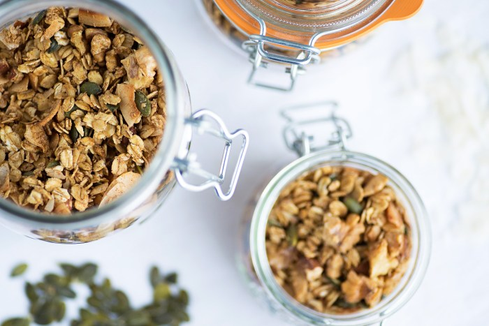 Homemade Nuts and Coconut Granola-12