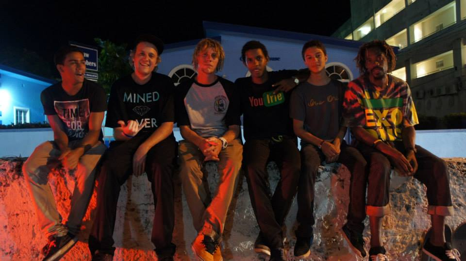 The Irie One Skate Team -- photo by Unknown