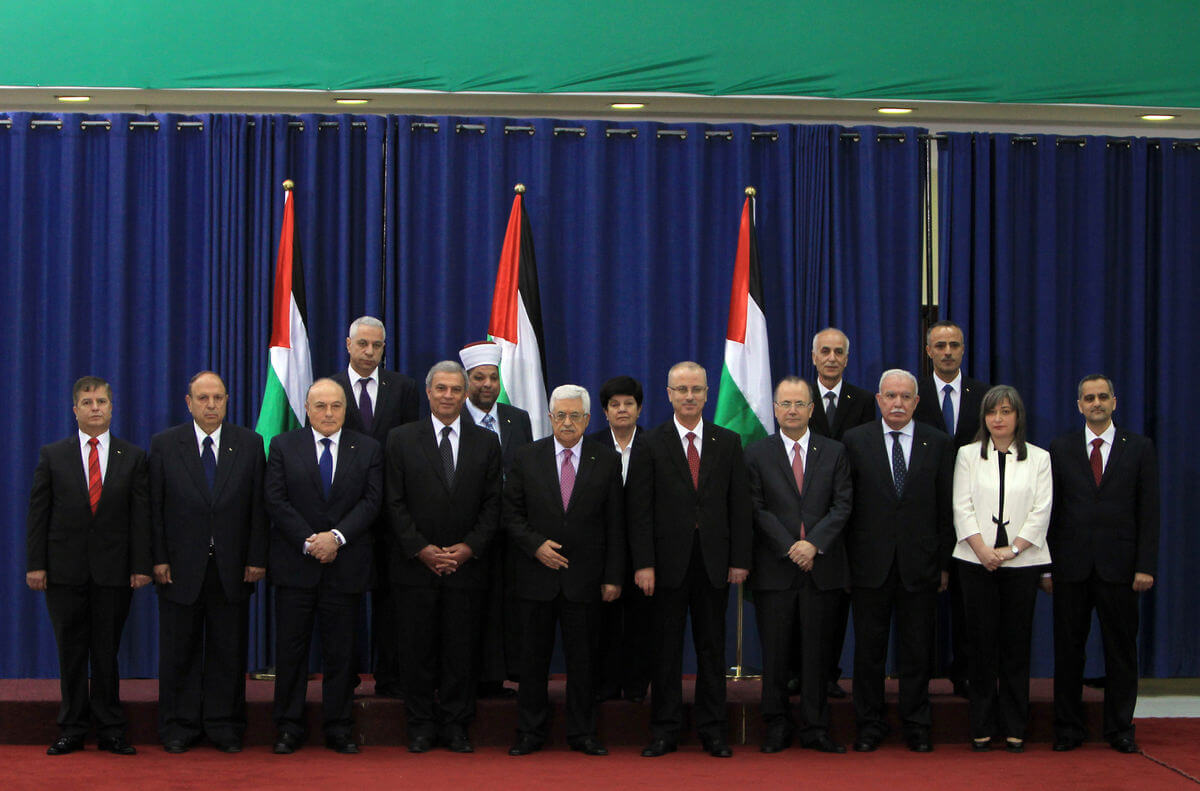 Palestine Unity Government To Be Sworn In Monday Update
