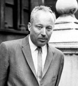 Leon Uris (1924-2003), author of Exodus