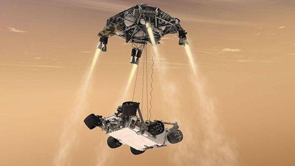 What If Huge NASA Mars Rover Crashes Sunday Night?