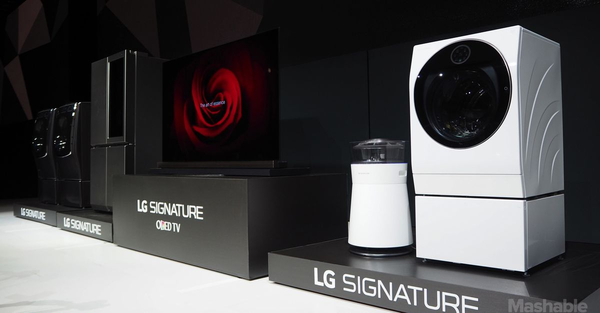LG's Signature products aren't just premium, they're ULTRA ...