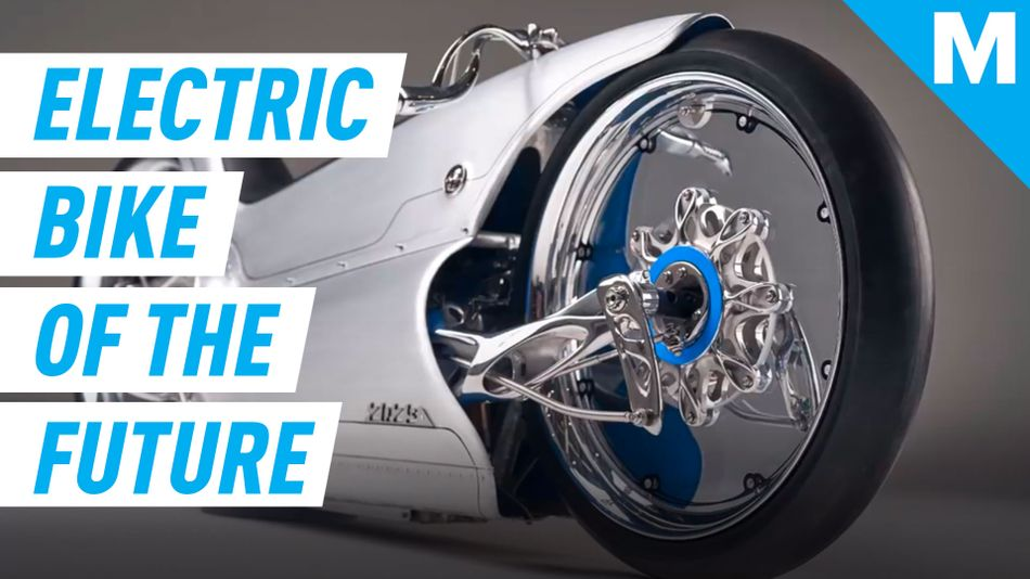 Underneath this bespoke electric bike is a 3D-printed titanium chassis