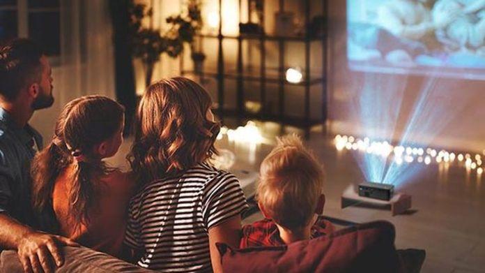 Build a cinema at home.
