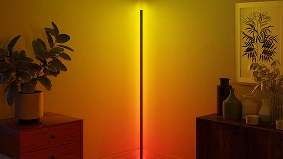 Tuck your moody, ambient lighting away in the corner.
