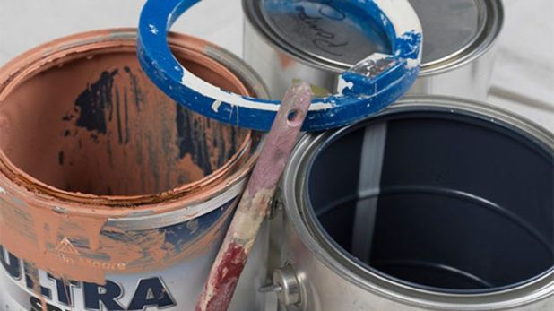 Gadgets: These reusable rim covers are meant to help avoid messes while painting.