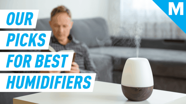 Help the indoors feel as fresh as the outdoors with these humidifiers