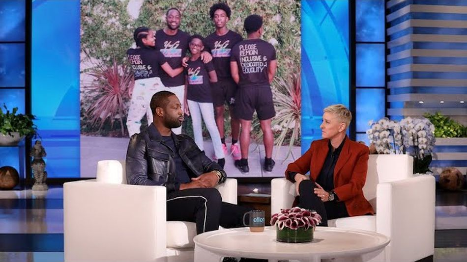 Watch Dwyane Wade embrace his 12-year-old child's gender identity