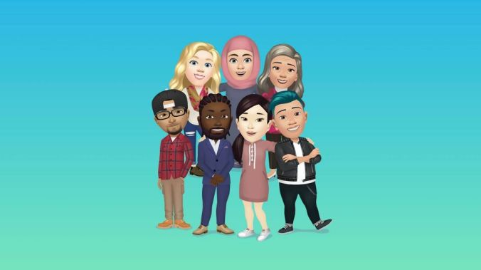 Facebook Avatars, which are definitely not Bitmoji, are rolling out in the U.S.
