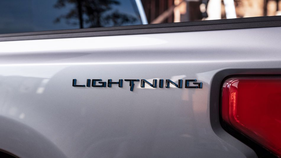 lead img ford f 150 lightning electric pickup truck