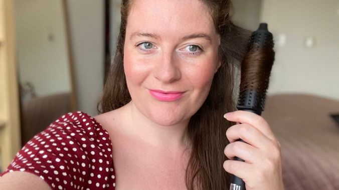 I tried out the ghd rise Volumising Hot Brush on long, thick hair. Here's how it fared.
