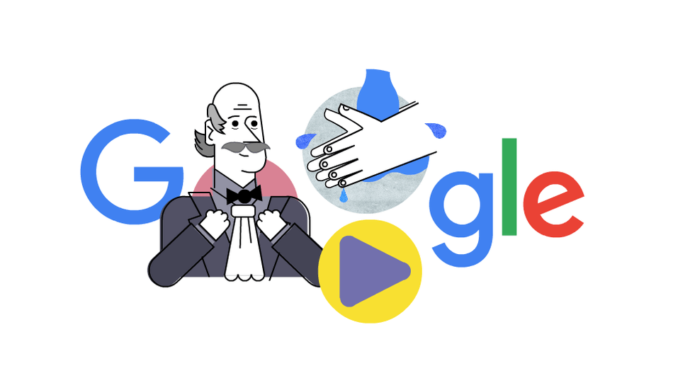 Even the new Google Doodle wants you to wash your hands really, really well