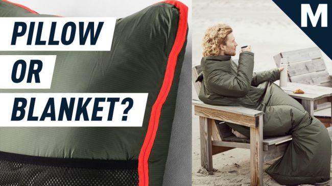 Behold, a weird Snuggie-style IKEA sleeping bag