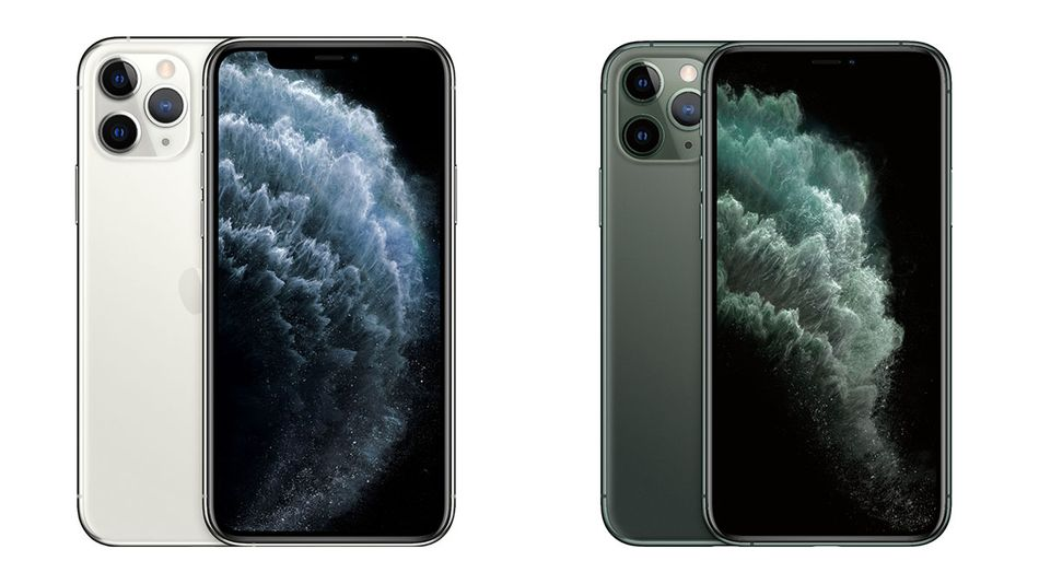 Choose between silver or midnight green.
