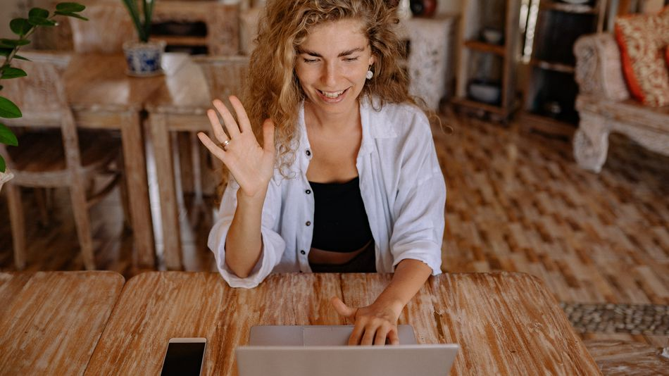 Save your video call transcription to look back on later.