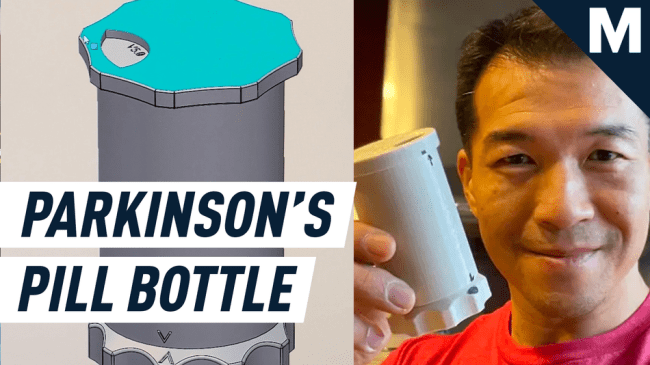 How an athlete with Parkinson's inspired TikTok's 3D printing community to invent an accessible pill bottle