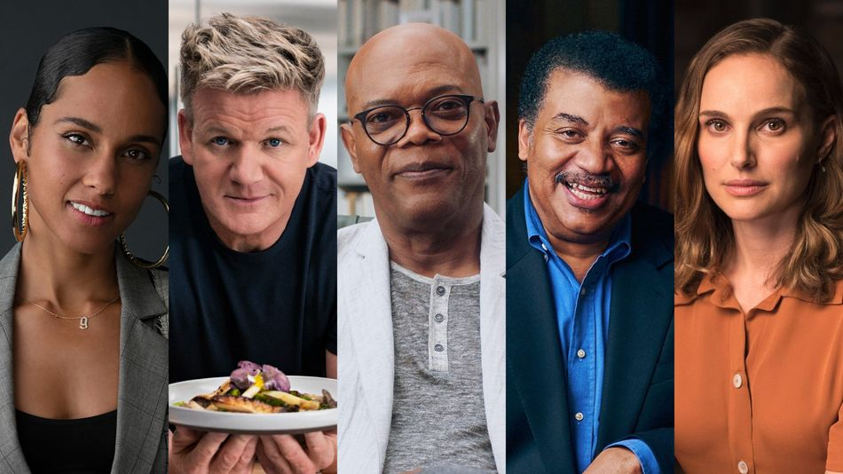 Learn from Experts like Alicia Keys, Gordon Ramsey, Neil deGrasse Tyson, and more.