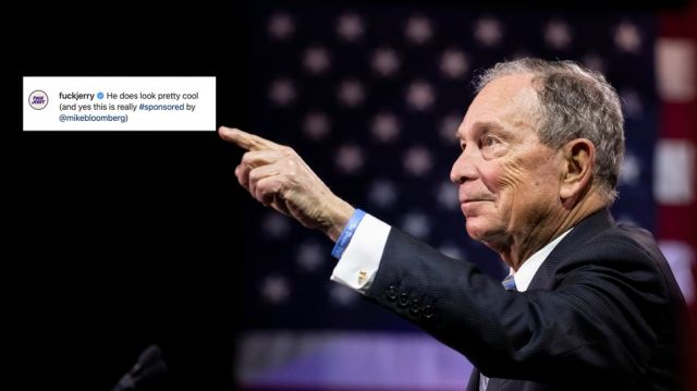 Here's a list of the meme accounts that sold out to Mike Bloomberg