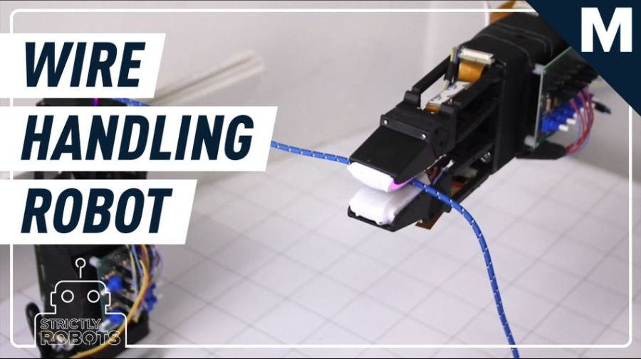 MIT created a robot that can handle tiny wires and cables — Strictly Robots