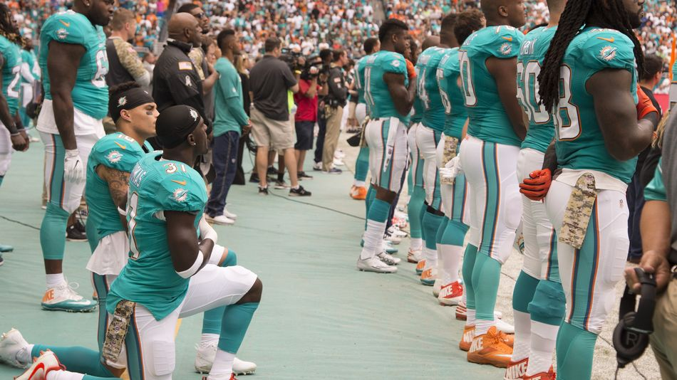 NFL paints 'End Racism' on its fields and no, this isn't a joke
