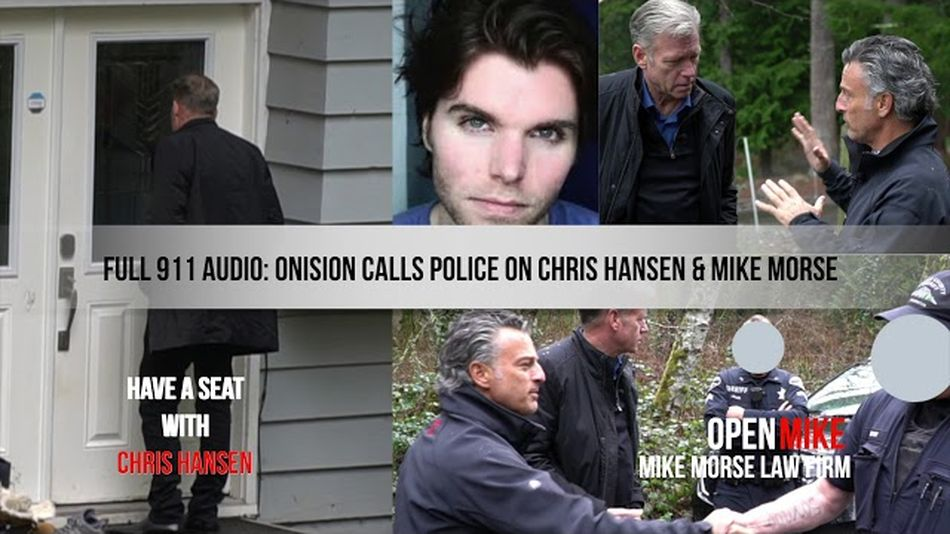 Onision referred to Chris Hansen and his camera crew as 'YouTube stalkers' in a 911 call