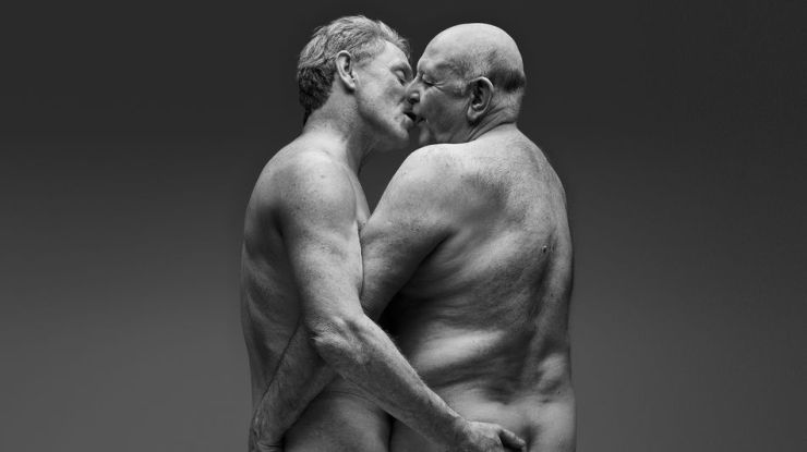 Taboo-breaking photo series celebrates the joy of later-in-life sex