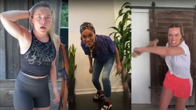 Watch a ton of famous women beat the crap out of each other for 5 minutes