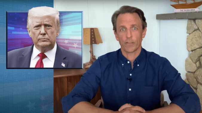 Seth Meyers slams White House's 'evil and stupid' reason for ditching its coronavirus testing plan