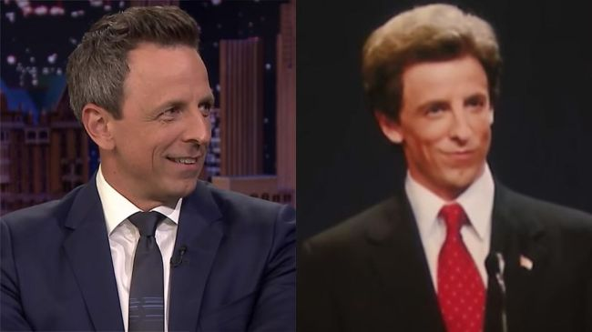 Seth Meyers describes awkwardly meeting John Kerry after impersonating him on 'SNL'