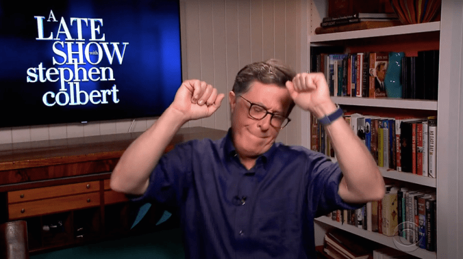 'Do your job': Stephen Colbert's radical fix for Trump's sinking coronavirus approval ratings