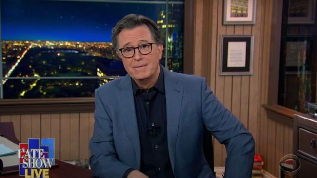 Stephen Colbert gets emotional about feeling 'enormous relief' watching Biden's inauguration