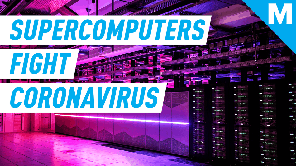 Supercomputers are being used to study coronavirus