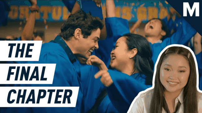 Lana Condor brings us up to speed on 'To All The Boys: Always and Forever'