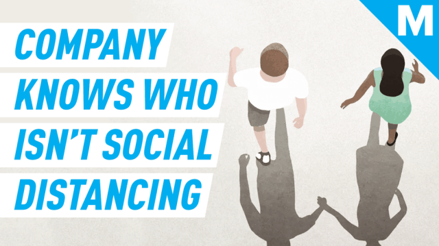 This company says it knows who isn't socially distancing