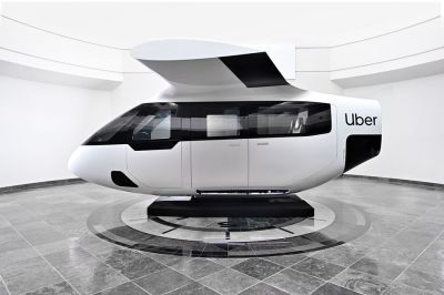 Uber Air is eVTOLs instead of cars.