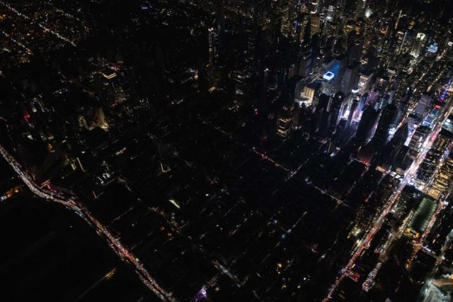 New York City blackouts always bring the wildest photos