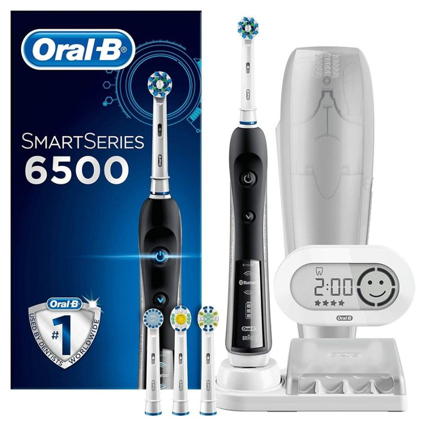 Oral-B SmartSeries 6500 CrossAction electric toothbrush on sale for 160 €