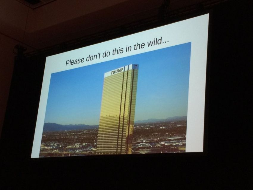 One of the slides.