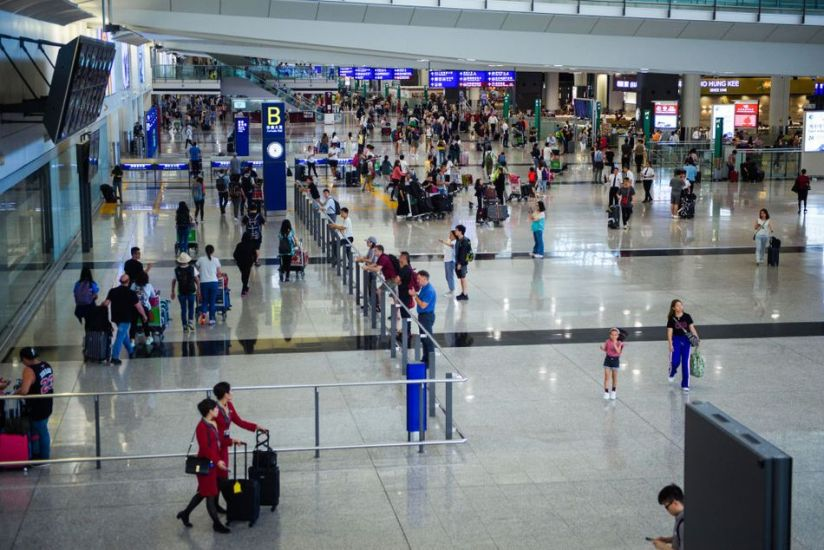 Hong Kong International in more lively days.