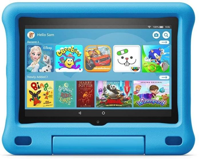 Keep the kids busy with this tough tablet